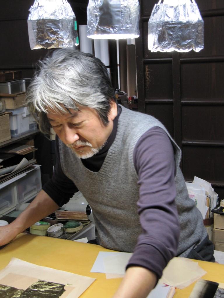 Gilding Master, Kyoto 2010